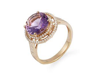 独具异域风格的繁复设计,搭配华丽诱人的紫晶 ...